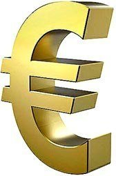 Euro currency sign symbol