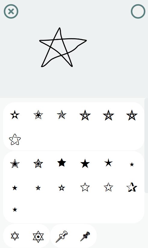 Pentagram painted on TELL.WTF