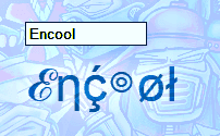 Encool tool - generate cool text with symbols