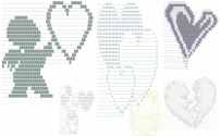 Text Art (ASCII art from symbols for Facebook, MySpace, etc )